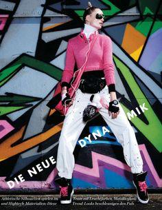 nice Elle Germany August 2014 | Maud Wélzen by Pasquale Abbattista  [Editorial]