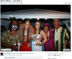 """The Incredibly Offensive Photos From An """"African""""-Themed 21st Birthday Party  i can't i can't i can't I am so done with ignorant people"""