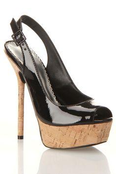 Kamilia Sandal Heels In Black.