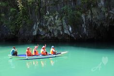 Regarded as the World's Best Island for three years, Palawan displays pristine beauty. One of the must-visit places in the island is the Underground River. Philippines Destinations, Places To Travel, Travel Destinations, Palawan, Taking Pictures, Holiday Travel, Asia Travel, Wanderlust, Boat