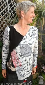 Sew Outside the Lines鈩?with Jody Pearl: Sew-What-You-Like Workshop - Day4...2shirts into one
