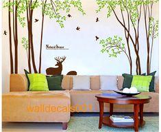 Decalcomanie adesivi murali decalcomania albero di walldecals001