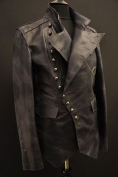 Steampunk jacket via eBay