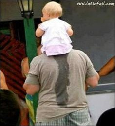 Fotos graciosas de bebes - Cuando los bebitos quieren ir al baño... Humor