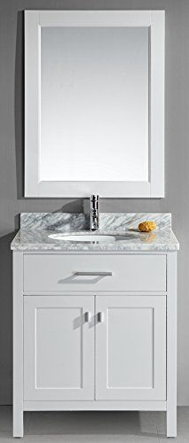 36 Inch Bathroom Vanity Single Sink Cabinet In Shaker Gray With Soft Close Drawers Doors Left Pinterest
