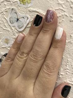 Gelish Nails, Nail Manicure, Diy Nails, Cute Nails, Pretty Nails, Nail Polish, Nail Accessories, Nail Art Diy, Perfect Nails