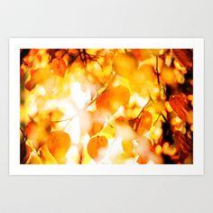 Autumn 2 Art Print by Mareike Böhmer - $18.00
