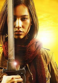Live Attack on titan movie, Mikasa