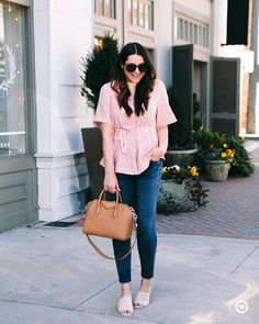 Im starting to think that one day my whole closet might just be pink and Im 100% okay with that.  You can instantly shop my looks by following me on the LIKEtoKNOW.it app http://liketk.it/2v50Z #liketkit @liketoknow.it #LTKunder100  #anthropologie #madewell #momstyle