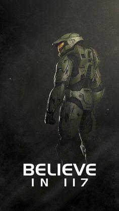 Halo 3, Halo Game, Master Chief And Cortana, Halo Master Chief, Video Game Posters, Video Games, John 117, Sci Fi Wallpaper, Halo Armor