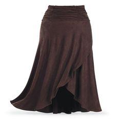 Montar acanalada Falda - Ropa y joyería simbólica - Sexy, Fantasía, modas románticas