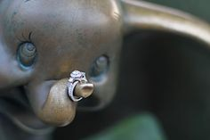 cute Disney engagement idea