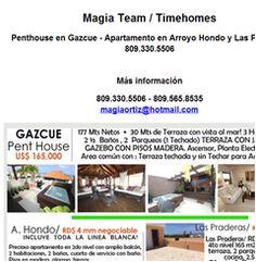 Penthouse en Gazcue - Apartamento en Arroyo Hondo y Las Praderas. 809.330.5506 - Publicidad