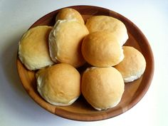Fast Buttery Buns    The problem with trying to make bread quickly is that you sacrifice flavor. A long, slow rise does magical things to dough, resulting in a bread that can be the star of a meal.  Then there are times when you just need some bread!