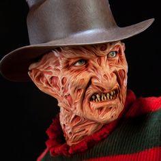 freddy krueger makeup robert englund - Google Search