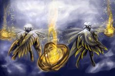 cherubim seraphim ophanim - Google Search