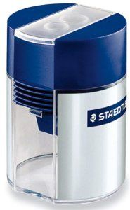 Staedtler Tub Pencil Sharpeners doubl...  Order at http://www.amazon.com/Staedtler-Pencil-Sharpeners-double-hole-sharpener/dp/B001E67Z16/ref=zg_bs_office-products_59?tag=bestmacros-20