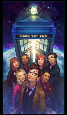 Doctor Who is one of my favorite TV shows. I just love science fiction and sometimes some of the stories told in doctor who sparks my imagination, making me think of game ideas Decimo Doctor, Serie Doctor, Eleventh Doctor, Dr Who, Doctor Who Fan Art, Don't Blink, Captain Jack, Geronimo, Bad Wolf