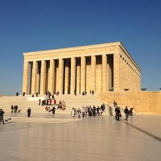 "See 74597 photos and 1630 tips from 620065 visitors to Anıtkabir. ""This whole huge complex's a fantastic way to while away some time in Ankara. Four Square, Louvre, Street View, Building, Travel, Culture, Viajes, Buildings, Traveling"