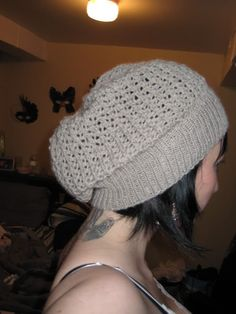 cute knitted slouchy