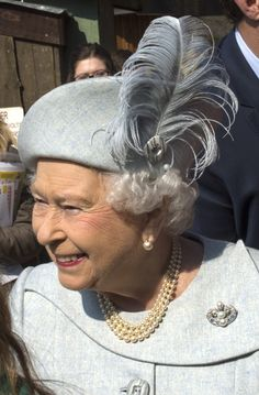Queen Elizabeth II Photos - Queen Elizabeth II accompanied by Prince Philip, Duke of Edinburgh, officially opens the Land of the Lions exhibit at London Zoo on March 17, 2016 in London, England. The enclosure will be opened by the Queen and is modelled on the village Sasan Gir in Gujarat, India, where lions and villagers live side by side. It is five times the size of the previous enclosure and facilitates for a breeding group of endangered Asiatic lions, of which only several hundred…