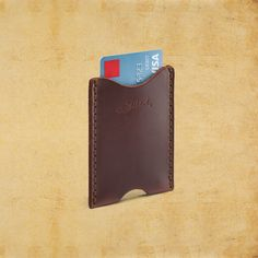 Men's Classic Leather Wallet Sleeve