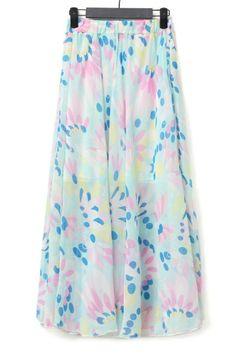 Flimsy Floral Skirt