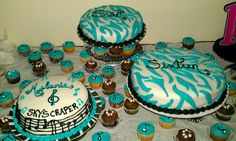 My daughters sweet 16 music theme party