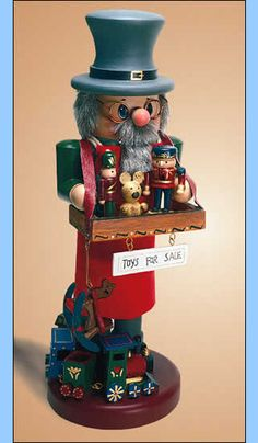 "Zim's Nutcracker - Toy Vendor   comes in 36"" and 14"""