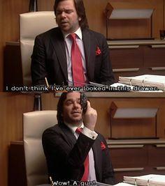 hahahaha! He's such an idiot.