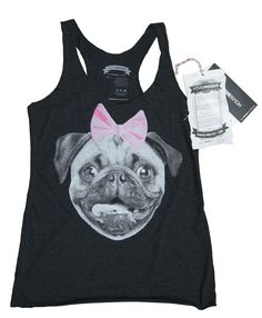 Pug Dog Women's tank Top