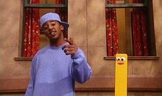 """All the """"rappers"""" on Sesame Street have hats turned backwards. Is that partially because they're all from the 90s?:   """"Number One"""" is a Sesame Street rap song performed by Miles about the number 1. He is later joined by a chicken and penguin."""