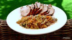 Una receta completísima y riquísima para la comida de cualquier día de la semana. Una propuesta del blog EL PASAPLATOS.