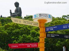 Tien Tan Buddha Hong Kong http://exploretraveler.com