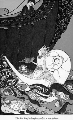 """Tales from the Enchanted Isles"""" by Ethel May Gate and illustrations by Dorothy P. Lathrop. Copyright 1926 by Yale University Press."""