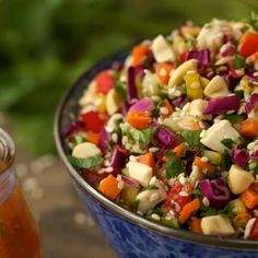 Image for Chopped Asian Chicken Salad w/ Ginger-Marmalade Dressing