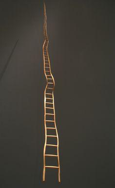 Martin Puryear – Ladder for Booker T. Washington, 1996