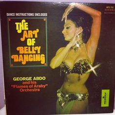 The Art of Belly Dancing Vintage Record on Etsy, $15.00
