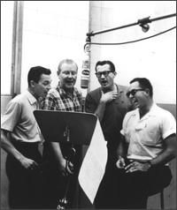 The Four Freshmen. Without them, there wouldn't have been no Beach Boys.