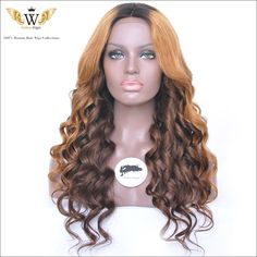 Find More Human Wigs Information about 5A 200 High Density Full Lace Wig Ombre Human Hair /Ombre Lace Front…