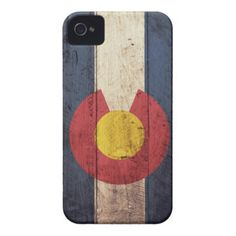 Can I ask for this for Christmas??? Please! This is beautiful...I just need the phone : ) Old Wooden Colorado Flag Case-Mate iPhone 4 Case
