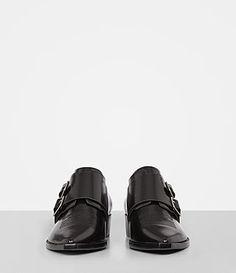 Womens Silva Monk Shoe (Black) - product_image_alt_text_4