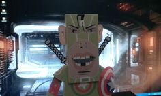 paper toy in captain loser 2-1