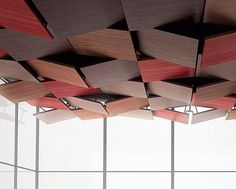 Mir O Dal Acoustic Clouds By Newmat Baffles Clouds And