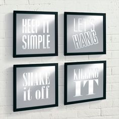 Keep it Simple Lighted Boxes, Set of Four