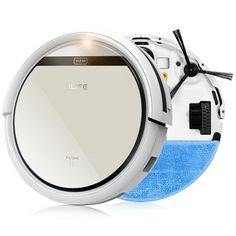 ILIFE Mop Robot Vacuum Cleaner for Home, iLife V5 CW310 Golden lid HEPA Filter,Sensor,Remote control Self Charge ROBOT ASPIRADOR