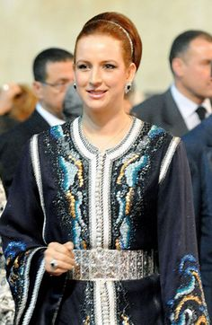 Princess Lalla Salma of Morocco Haute Couture Paris, Elie Saab Couture, Morrocan Dress, Moroccan Caftan, Style Oriental, Oriental Fashion, Ethnic Fashion, Saudi Princess, Style Royal