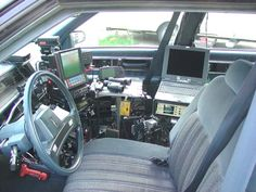 Storm chasers | Inside Storm Chaser Vehicle