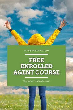 Looking for a free option to get you started with #EAExam prep? Check out my free Enrolled Agent course: #enrolledagent #futureEA #freeexam Career Path, Career Advice, Enrolled Agent, Exam Study Tips, Accounting Career, Career Exploration, Free Courses, Test Prep