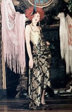 Fashion's Most Wanted: Style Icon: Marchesa Luisa Casati inspired Galliano collection for Dior